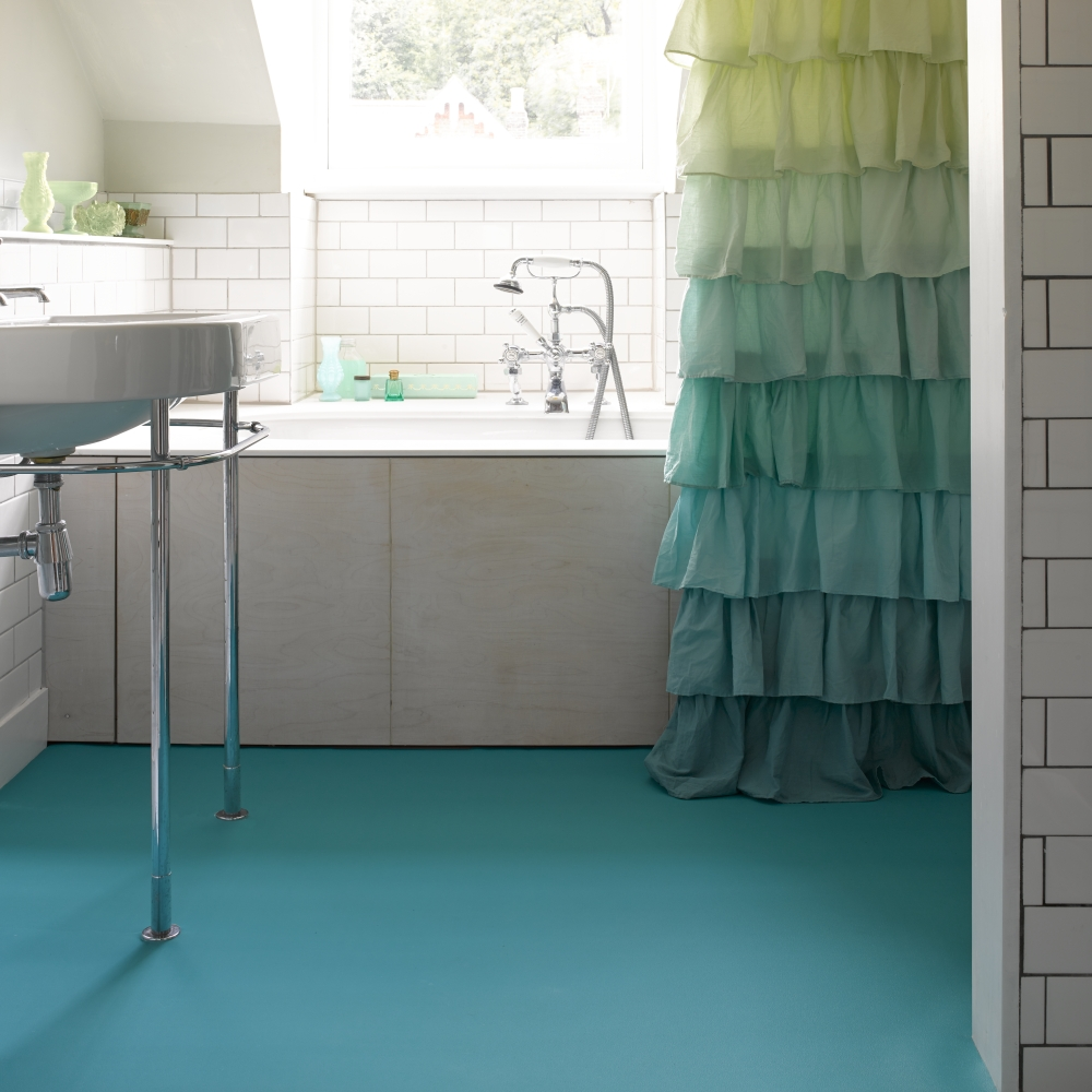 Bathroom floor vinyl tiles - Vinyl Bathroom Floor Bathroom Vinyl Tile 4