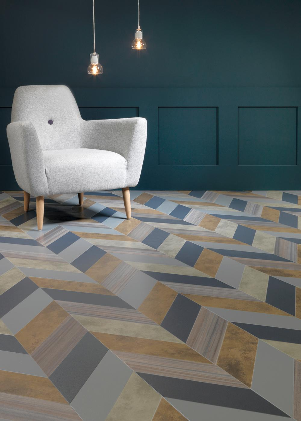 Industrial Vinyl Flooring : Commercial vinyl tiles dubai carpet