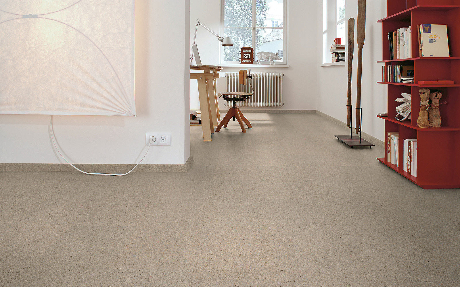 Cork linoleum vinyl flooring in abu dhabi for Linoleum cork