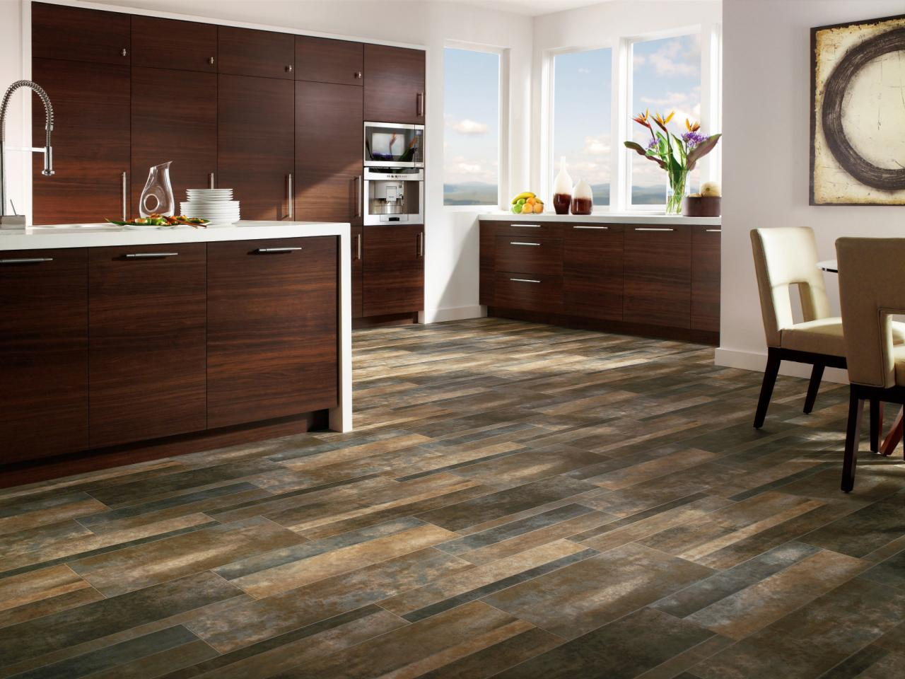 Hardwood Vinyl Flooring High Quality