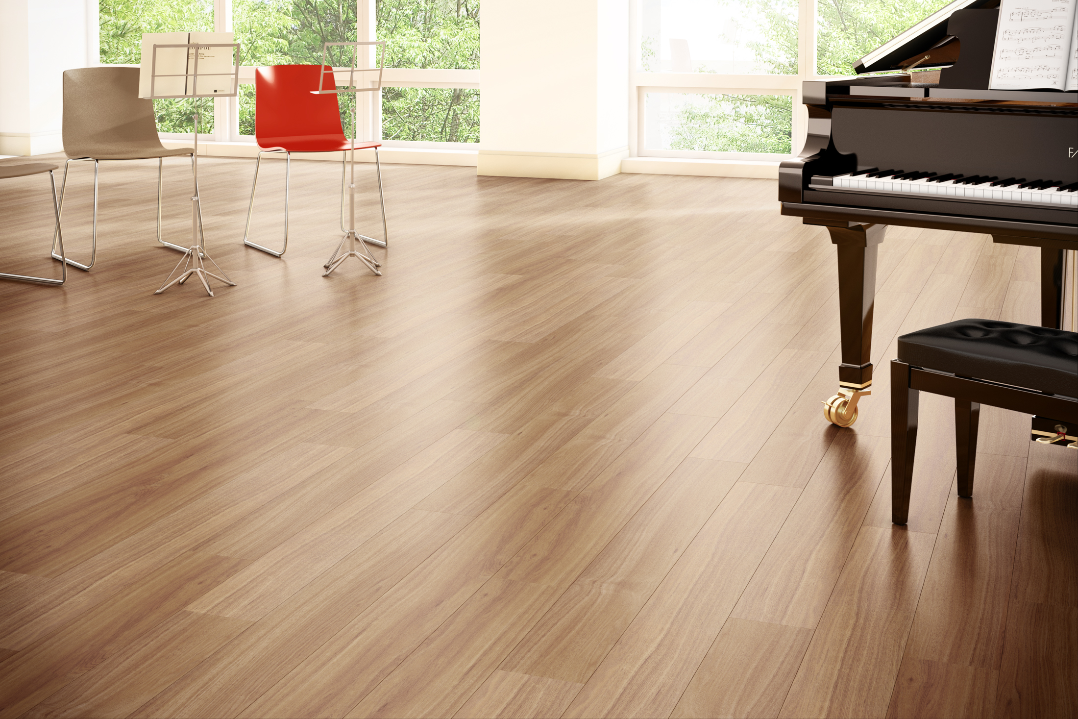 Luxury vinyl flooring vinyl flooring in abu dhabi for Vinyl tile over linoleum