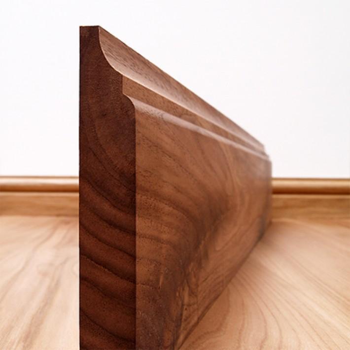 Wood Skirting Vinyl Flooring Dubai